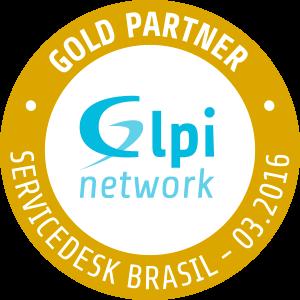 Servicedesk Brasil é Gold Partner GLPI Network Selo